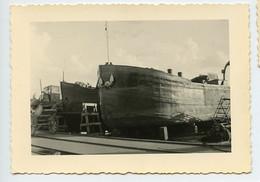 Snapshot SOLAVAY JR Bateau Paquebot Cargo Boat à Situer Identifier Belgique ? Ancre Marine Port Cale - Boats