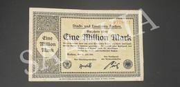 #BLT10 - 1 Eine  Million Mark Allemagne B 778617- Radjen Juillet Juli 1923 - Monnaie Argent Billet - 1 Million - 1 Million Mark