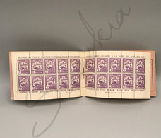 #50 -  CARNET INDOCHINE De 20 Timbres Du N° 131 Avec Bande Publicitaire Conseil Postal Neuf 1927 - Ungebraucht