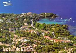 """83 - Agay - Village De Vacances - """"Les Mas De L'Estérel"""" - Vue Aérienne - Otros Municipios"""