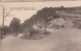 Aveyron - St JEAN Du BRUEL - Vue Du Limaçon - Route De Trèves - Animée Voitures Non écrite - Otros Municipios