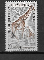 1962 - N°350**MNH - Animaux - Kameroen (1960-...)