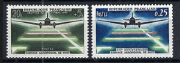 FRANCE 1959,1964:  Les Y&T 1196,1418 Neufs** - 1927-1959 Mint/hinged