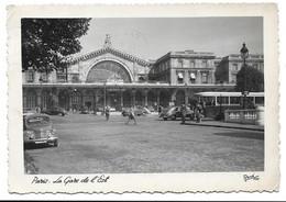 75 - PARIS - GARE DE L EST - Edition René 1952 - Metro, Estaciones