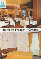 CPSM 39 ORNANS   HOTEL DE FRANCE - Non Classés