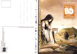 ALEXE : Carte Postale Pour Salon SAINT BEAUZIRE 2012 - Postcards