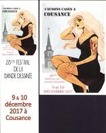 COLLIGNON : Duo (carte + Marque Page)  Pour Salon COUSANCE 2017 - Postcards