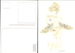 BRINGEL : 2 Cartes Postales Papillons - Postcards