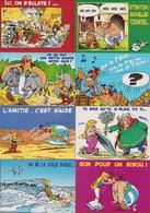 ASTERIX : Lot De 9 Cartes Postales Pour CARTOON COLLECTION 1999 - Postcards