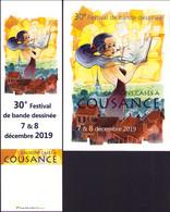 CORBOZ : Duo (carte + Marque Page)  Pour Salon COUSANCE 2019 - Postcards
