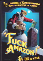 LEFEUVRE : Carte Dos Blanc FOX BOY FUCK AMAZON - Postcards