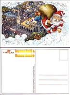 RAY : Carte Postale JOYEUX NOEL Pour WAROU - Postcards