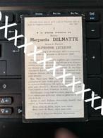[V] Delnatte Margueritte Leterme Alphonse Tourcoing 1877 Warneton 1922 Wytschaete - Obituary Notices
