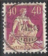 Schweiz Suisse Helvetia 1908: Zu 112 Mi 108 Yv 123 Mit Zentrum-Stempel MELLINGEN 7.VIII.19 (Zu CHF 1.50) - Used Stamps