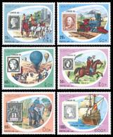 Laos 1990 - YT 953/958 ; Mi# 1200/05 MNH International Stamp Exhibition; London - Laos