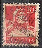 Schweiz Suisse 1937: Buste De Tell (1922) Zu 158 Mi 166 Yv 202 Mit Voll-Stempel BAHNPOST 1.VII.37 (Zumstein CHF 1.00) - Used Stamps