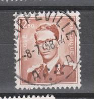 COB 1028 Oblitération Centrale PHILIPPEVILLE - 1953-1972 Bril