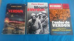 LOT 3 LIVRES VERDUN 1916 WW 1 - 1914-18
