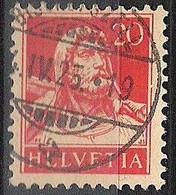 Schweiz Suisse 1925: Buste De Tell (1922) Zu 158 Mi 166 Yv 202 Mit Voll-Stempel BISCHOFSZELL 4.IV.25 (Zumstein CHF 1.00) - Used Stamps