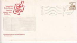 Allemagne-Entier Postal-DEutsches Rotes Kreuz- Croix Rouge Allemande-30/4/1984 - Enveloppes Privées - Oblitérées