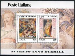 "2000 -  Italia - Italy -  Sass.  - "" Avvento Anno 2000 - 5^ Seri "" -  Nr. Bf. 28 - Mint - MNH - Blocks & Sheetlets"