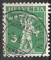 Schweiz Suisse 1910: Fils De Tell-Knabe (1909) Zu 119 Mi 113 I Yv 130 Mit Voll-o HILTERFINGEN 3.X.10 (Zumstein CHF 0.50) - Used Stamps