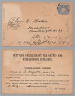 JAPON - JAPAN / 1910 ENTIER POSTAL REPIQUE  EN ALLEMAND (ref 8583a) - Postkaarten