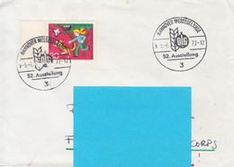 Allemagne-Nannover-6/6/1972-Hannover Messegelande 52 Ausstellung-52è Foire Exposition De Hanovre - Lettres & Documents