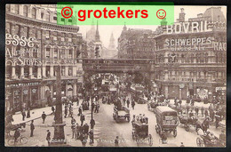 LONDON Ludgate Hill And St. Paul's From Ludgate Circus ± 1910 - Andere