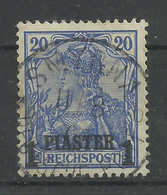 Deutsche Post In Der Türkei 14 II Gest. Smyrna - Kantoren In Het Turkse Rijk