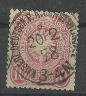 Deutsche Post In Der Türkei V 33 A Gest., Geprüft Jäschke-Lantelme - Kantoren In Het Turkse Rijk