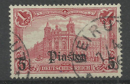 Deutsche Post In Der Türkei 32 B Gest., Geprüft Jäschke-Lantelme - Kantoren In Het Turkse Rijk