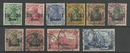Deutsche Post In Der Türkei 36/45 Gest., Teilweise Geprüft Jäschke-Lantelme - Officina: Turquia