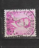 COB 1067 Oblitération Centrale Relais étoile * PERONNES-LEZ-ANTOING * - 1953-1972 Bril