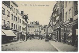 BELGIQUE - TRES TRES RARE - NAMUR - Rue De Fer Et Les Quatre Coins - - Namur