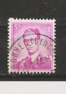 COB 1067 Oblitération Centrale PERONNES (BINCHE) - 1953-1972 Bril