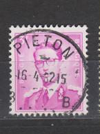 COB 1067 Oblitération Centrale PIETON - 1953-1972 Bril
