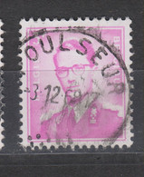 COB 1067 Oblitération Centrale POULSEUR - 1953-1972 Bril