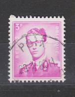 COB 1067 Oblitération Centrale POIX - 1953-1972 Bril
