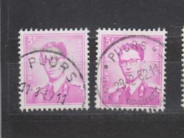 COB 1067 Oblitération Centrale PUURS + Touristique - 1953-1972 Bril