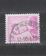 COB 1067 Oblitération Centrale POMMEROEUL - 1953-1972 Bril