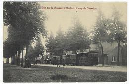 BELGIQUE - RARE - LIMBOURG - LEOPOLDSBURG - Vue Sur La Chaussée D'Hechtel - Camp De Béverloo - 1911 - Leopoldsburg