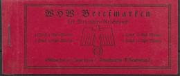 Germany Mnh ** Complete Booklet Michel 45 150 Euros Read Description - Carnets