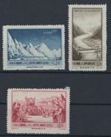 CHINA 3 Stamps 1959 Mint No Gum - Nuovi