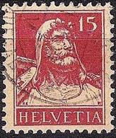 Schweiz Suisse Tell 1927: Zu 173 Mi 205 Yv 203 Mit Stempel Vom 21.VI.27 BRIEFAUFGABE (Zumstein CHF 9.00) - Used Stamps