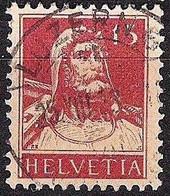 Schweiz Suisse Tell 1927: Zu 173 Mi 205 Yv 203 Mit Voll-Stempel LUZERN 25.VIII.28 (Zumstein CHF 9.00) - Used Stamps