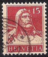 Schweiz Suisse Tell 1927: Zu 173 Mi 205 Yv 203 Mit Eck-Stempel ...G .28.17 (Zumstein CHF 9.00) - Used Stamps