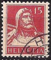 Schweiz Suisse Tell 1927: Zu 173 Mi 205 Yv 203 Mit Eck-Stempel Von CHUR (Zumstein CHF 9.00) - Used Stamps