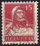 Schweiz Suisse Tell 1927: Zu 173 Mi 205 Yv 203 Mit Stempel Vom 28.IV.33 (Zumstein CHF 9.00) - Used Stamps