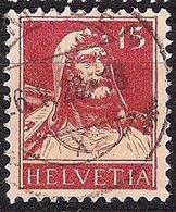 Schweiz Suisse Tell 1927: Zu 173 Mi 205 Yv 203 Mit Voll-Stempel SAMADEN 26.V.28 (Zumstein CHF 9.00) - Used Stamps